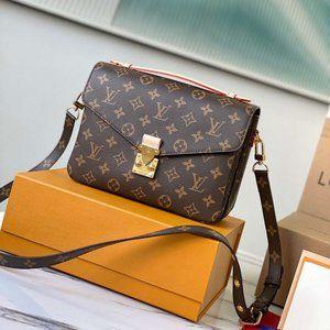 LV Pochette Metis Monogram Bag M44875 25*19*7 CM
